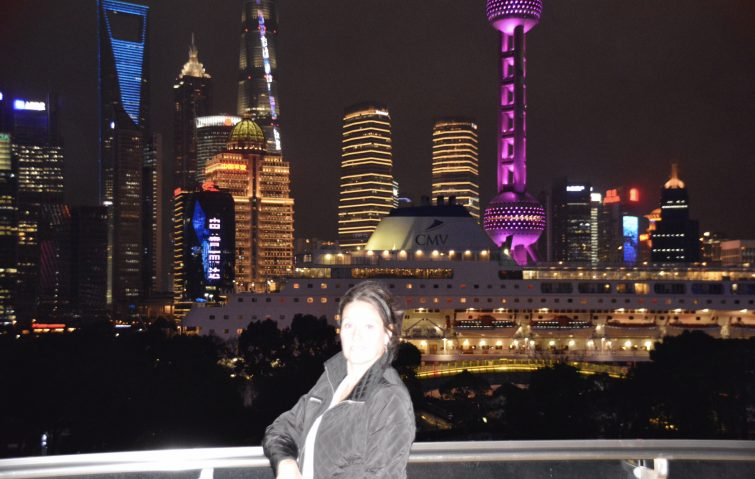 Patricia Copeland a Shanghai